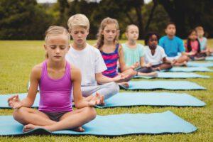 Entspannung für Kinder im Vorschulalter